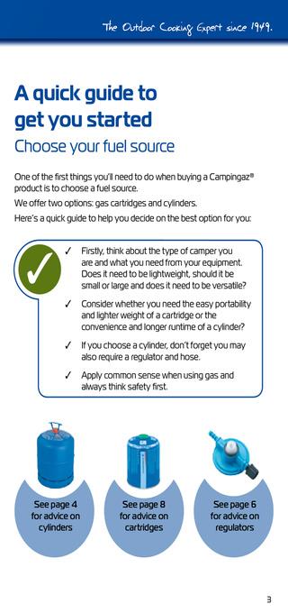 Campingaz - Guide